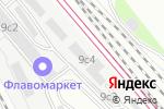 Схема проезда до компании Toptel в Москве