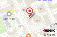 Схема проезда до компании Тет-А-Тет в Москве