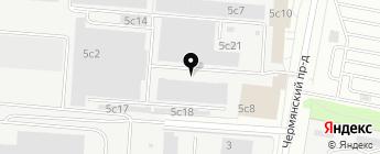 Installauto на карте Москвы
