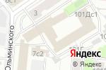 Схема проезда до компании Мобильные Финансы в Москве