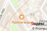 Схема проезда до компании Spunky studio в Москве