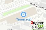 Схема проезда до компании ОлимпПаркета в Москве