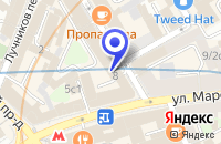 Схема проезда до компании НОТАРИАЛЬНАЯ КОНТОРА в Москве