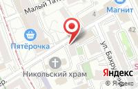 Схема проезда до компании Юта в Москве