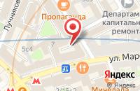 Схема проезда до компании Центр политических технологий в Москве