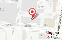 Схема проезда до компании Медиапорт в Москве