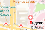 Схема проезда до компании Fiskars в Москве