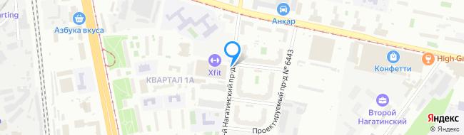 проезд Нагатинский 1-й
