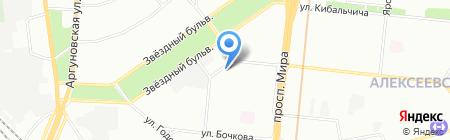 Хейфец и партнеры на карте Москвы