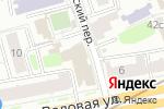 Схема проезда до компании РФИ банк в Москве
