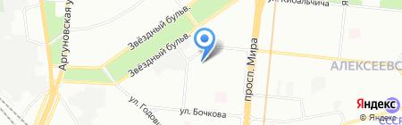 Дом-Строй на карте Москвы