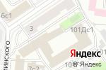 Схема проезда до компании Юнис в Москве