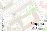 Схема проезда до компании Дриблинг в Москве