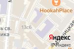 Схема проезда до компании Центральная клиника в Москве