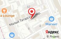 Схема проезда до компании Приор-Издат в Москве