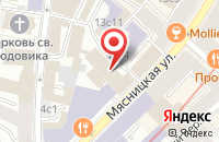 Схема проезда до компании Ингул-Сервис в Москве