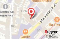 Схема проезда до компании Искра-М в Москве