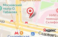 Схема проезда до компании Квадрат в Москве