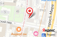 Схема проезда до компании Мостелеком-Сервис в Москве
