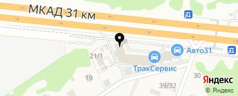 АВТО31 на карте Москвы