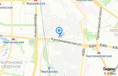 Местоположение на карте пункта техосмотра по адресу г Москва, ул Котляковская, д 4