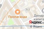 Схема проезда до компании Я-Актер в Москве