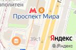 Схема проезда до компании Social Club Римский-Корсаков в Москве