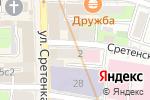 Схема проезда до компании РУСВОЯЖ в Москве