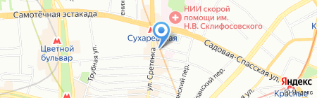 РУСВОЯЖ на карте Москвы