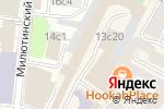 Схема проезда до компании BrandMaker Russia в Москве
