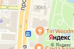 Схема проезда до компании Flowwow в Москве