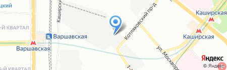 Сфинкс-Фаворит на карте Москвы