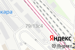 Схема проезда до компании На Рижской в Москве