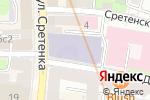 Схема проезда до компании Корпорация вкуса в Москве