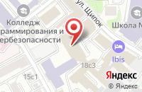 Схема проезда до компании Мир Агробизнеса в Москве