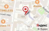Схема проезда до компании Спортклуб в Москве