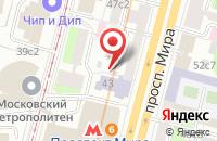 Схема проезда до компании Медиаски в Москве