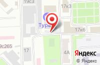Схема проезда до компании Хуаци в Москве