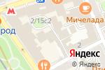 Схема проезда до компании Коопвнешторг в Москве