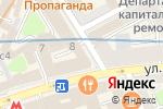 Схема проезда до компании Акэф-Аудит в Москве