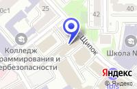 Схема проезда до компании АКБ ИНБАНКПРОДУКТ в Москве