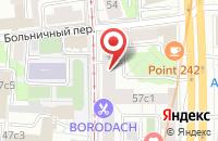 Схема проезда до компании Теам Медиа в Москве