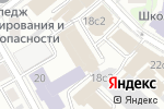 Схема проезда до компании Спецстрой СБ в Москве
