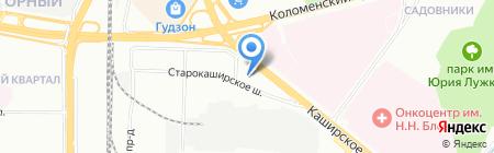Усадьба Принца на карте Москвы