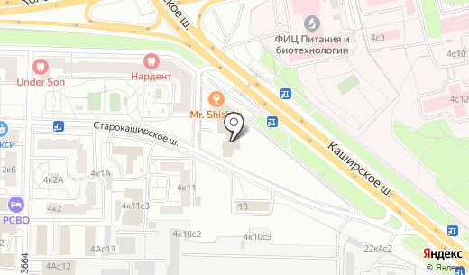 Усадьба Принца. Схема проезда в Москве