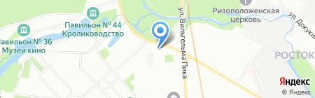 КОРК-С на карте Москвы