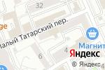 Схема проезда до компании Представительство Администрации Брянской области при Правительстве РФ в Москве