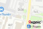 Схема проезда до компании Спорт Лайн в Москве