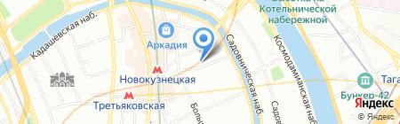 Orso на карте Москвы