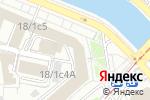 Схема проезда до компании Департамент взаимодействия с органами таможенного союза и экономического сотрудничества со странами СНГ в Москве